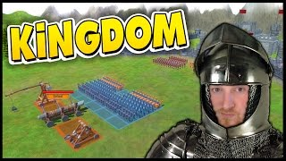 Kingdom - Medieval Castle Siege Totally Accurate Battle Simulator [Let's Play Kingdom Gameplay]