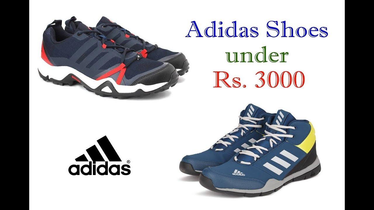 Top 10 Best Shoes under Rs. 3000 For Men in Flipkart | Best Adidas Shoes.  The Indian Shopper