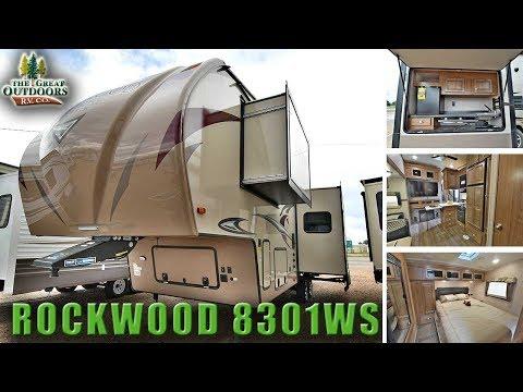 New Bunk Room Model 2018 FOREST RIVER ROCKWOOD 8301WS RV Colorado Dealer