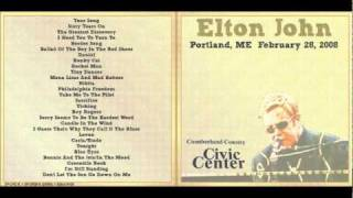 #6 - Ballad Of The Boy In The Red Shoes - Elton John - Live SOLO in Portland 2008
