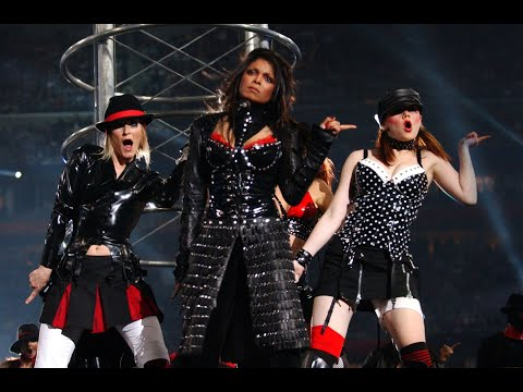 """Janet """"All For You/Rhythm Nation/The Knowledge"""" Feat. Justin """"Rock Your Body"""" (Super Bowl 2004)."""