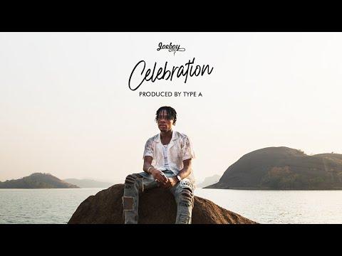 Joeboy - Celebration (Lyric Visualizer)