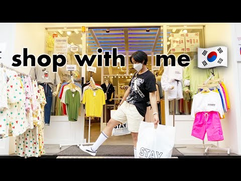 Clothes Shopping in Korea | Korean Clothing & Fashion