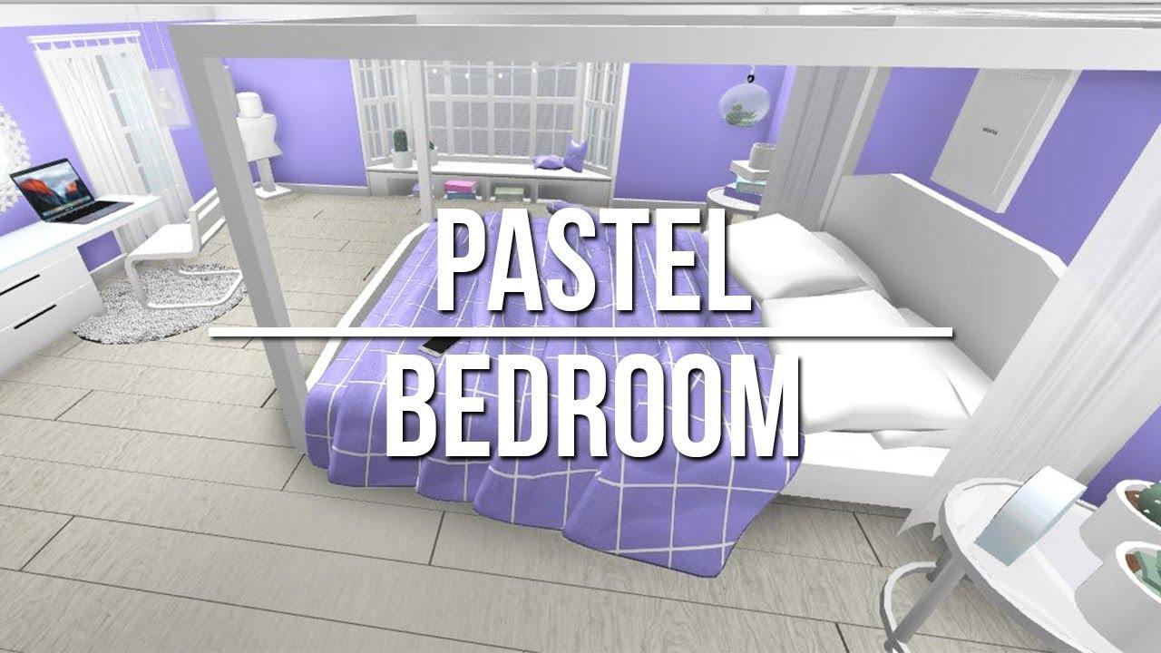 Roblox Room: Speed Build: Pastel Bedroom - YouTube