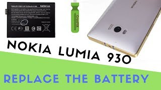 nOKIA LUMIA 930 Battery change - replace tutorial by CrocFIX