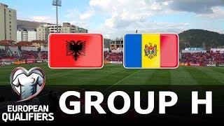 Albania vs Moldova - European Qualifiers - PES 2019
