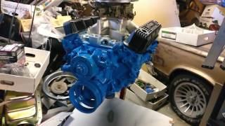 New Paint On The 5 9L 360 Mopar Magnum Small Block V8