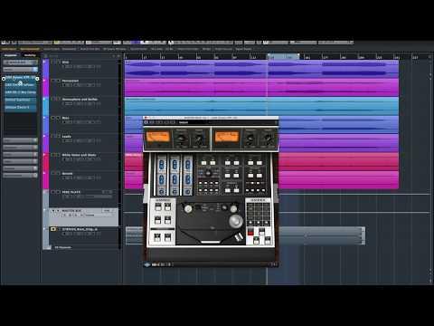 UAD Tape compression ATR 102 for mastering EDM