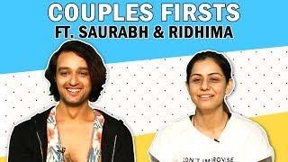 Sourabh Raaj Jain And Ridhima Jain Share About Their First Kiss, Proposal, Date & More