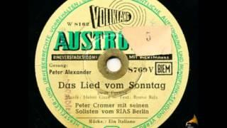 Peter Alexander - Das Lied vom Sonntag - Austroton