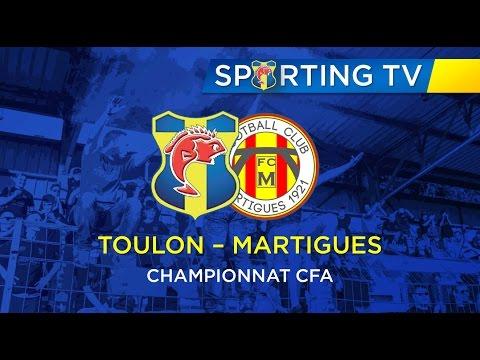 SPORTING CLUB TOULON - FC Martigues (1-2): 12ème journée de CFA (26/11/2016)