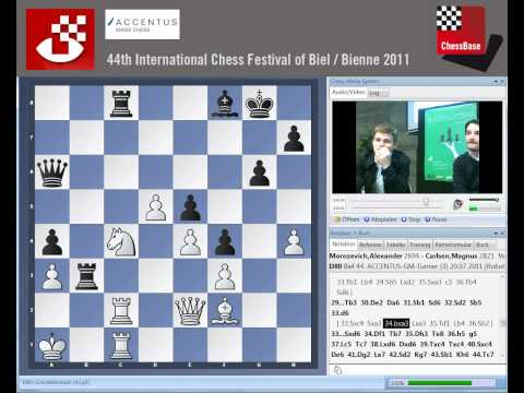 Alexander Morozevich - Magnus Carlsen Biel Bienne 2011 Round 3 Analysis