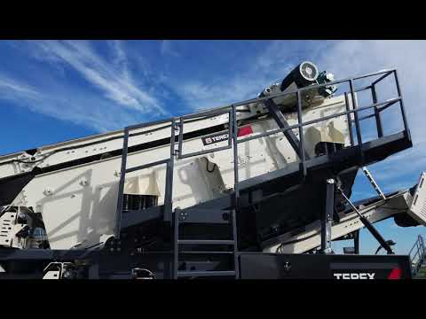 Terex MPS Launches CRH1111R Wheeled Crushing Plant