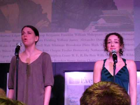 Sutton Foster @ Barnes & Noble part 4