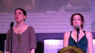 "Sutton Foster @ Barnes & Noble part 4 ""Flight"" with Megan McGinnis"
