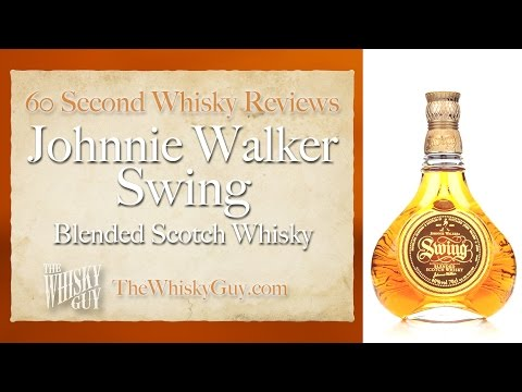 Johnnie Walker Swing Blended Scotch Whisky - 60 Second Whisky Review #053