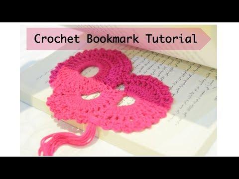 Crochet Easy Bookmark Tutorial Youtube
