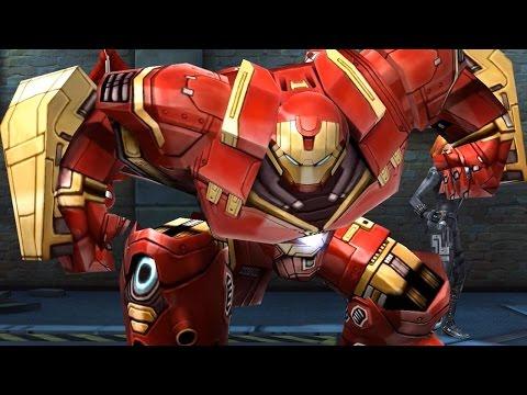Marvel: Future Fight – Iron Man HULKBUSTER Biometrics Unlocked!
