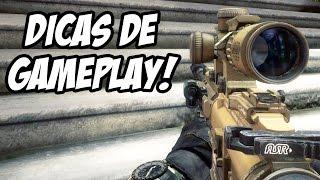 CALL OF DUTY GHOSTS - Algumas Dicas Para Melhorar! (Multiplayer Gameplay)
