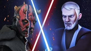 Why Darth Maul Died So Easily Against Obi-Wan in Rebels - Star Wars Explained