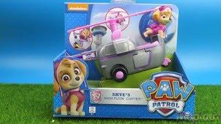 Скай и её машинка-вертолет (из м/ф Щенячий патруль)