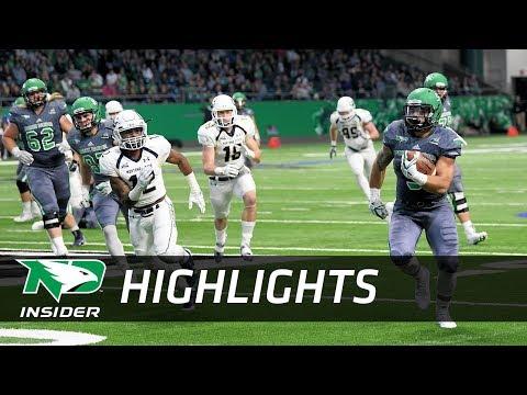 UND Football: Highlights - UND vs. Montana State - 9/23/17