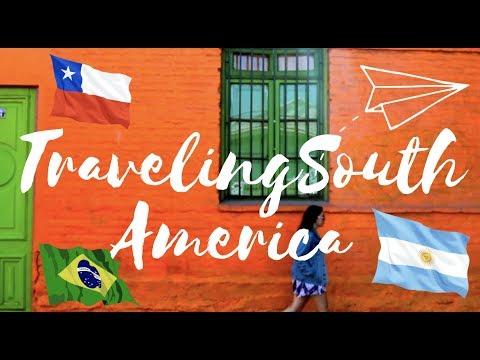 TRAVELING SOUTH AMERICA | CHILE, ARGENTINA, URUGUAY & BRAZIL!