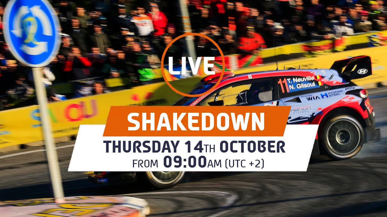 SHAKEDOWN LIVE: WRC RallyRACC - Rally de España 2021