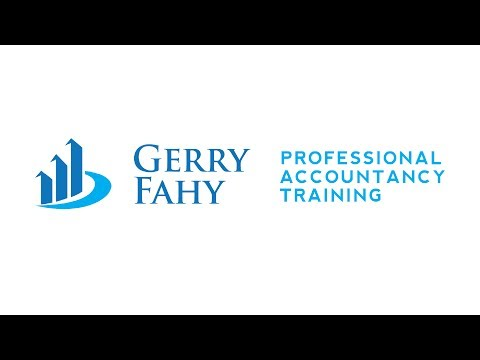 Gerry Fahy - Professional Accountancy Training