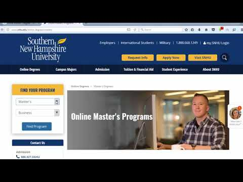 All Information Southern New Hampshire University 2017 | Online Masters Programs 2017