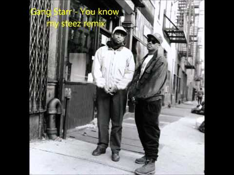 Gang Starr fet Lady Of Rage  You know my steez remix