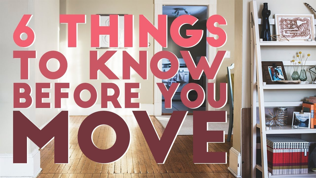 6 things you better know you move together