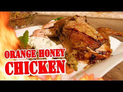 Orange Honey Chicken - BBQ Grill Rezept Video - Die Grillshow 294