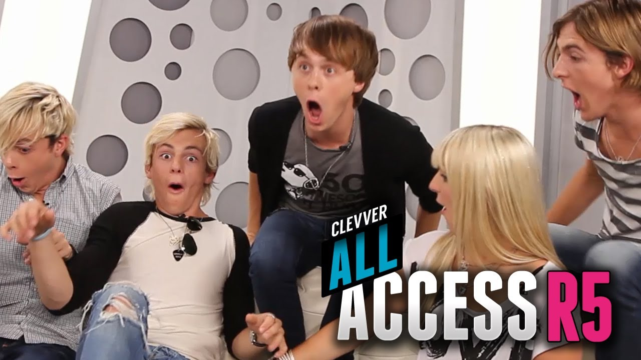 R5 Bloopers & Bonus Moments - Clevver All Access Episode 11