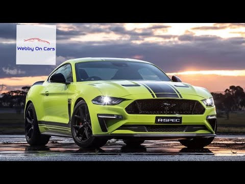 Introducing the 2020 Ford Mustang R-Spec! Ford Australia