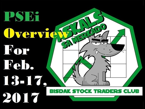 Philippine Stock Exchange Index REVIEW for Feb.13-17, 2017
