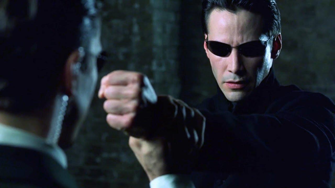 Download Neo vs Agents | The Matrix Reloaded [Open Matte]