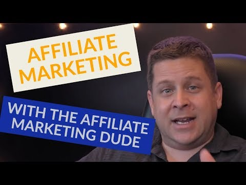 Affiliate Marketing LIVE with Marcus the Affiliate Marketing Dude
