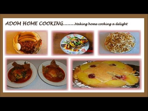 WELCOME TO ADOMHOMECOOKING