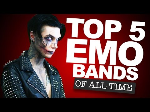 Top 5 Emo Bands of All Time