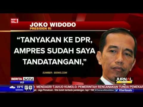 Berita 20 Februari 2016 Top..Jokowi Teken Ampres RUU Tax Amnesty