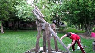 Home Built Trebuchet