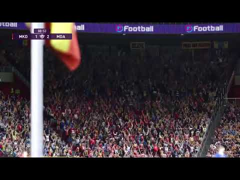 PES2020 Live Eeuro2020 Qualifications, Go Moldova-games 2,3 And 4