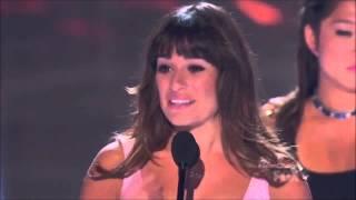 Discours de Lea Michele à propos de Cory Monteith, Teen Choice Awards 2013 (vostfr)