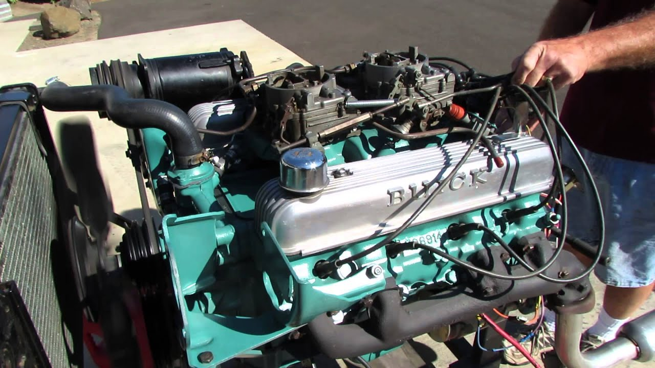 1964 KX motor 425 cubic inch/360 HP - YouTube