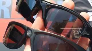 Sportglasses with camera test cheap and expensive one