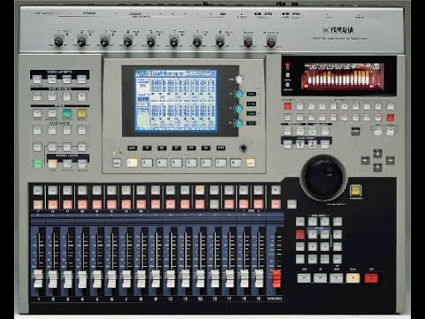 yamaha aw4416 recorder mixing tutorial youtube. Black Bedroom Furniture Sets. Home Design Ideas