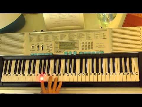 How to Play ~ Cough Syrup ~ Young the Giant ~ LetterNotePlayer ...