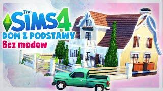 DOM Z PODSTAWY GRY, BEZ MODÓW - The Sims 4 Szybka Budowa - WIEJSKI DOM, Mrs. Scarlett