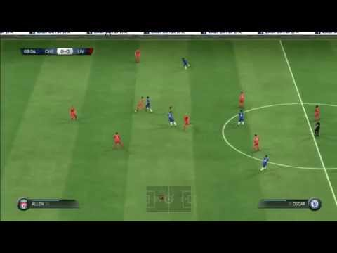 FIFA 15 Demo Gameplay Premier League FC Chelsea - Liverpool PS3 HD